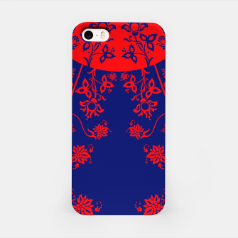 Miniatur floral ornaments pattern vom30 iPhone Case, Live Heroes
