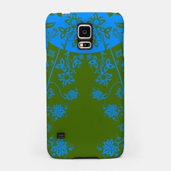Miniatur floral ornaments pattern vom180 Samsung Case, Live Heroes