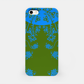 Miniatur floral ornaments pattern vom180 iPhone Case, Live Heroes