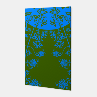 Miniatur floral ornaments pattern vom180 Canvas, Live Heroes