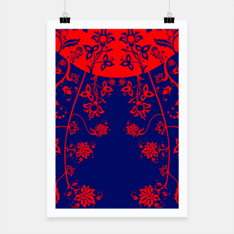 Miniatur floral ornaments pattern vom30 Poster, Live Heroes