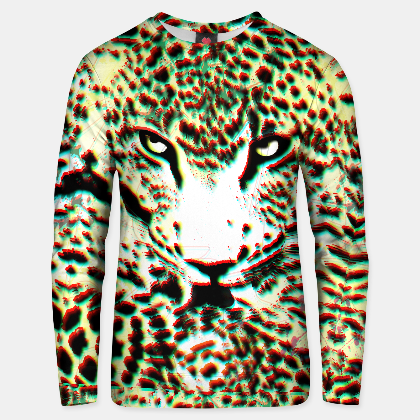 Image of Leopard Tongue Sweater - Live Heroes