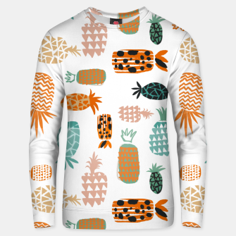 Thumbnail image of Crazy Pineapples Unisex sweater, Live Heroes
