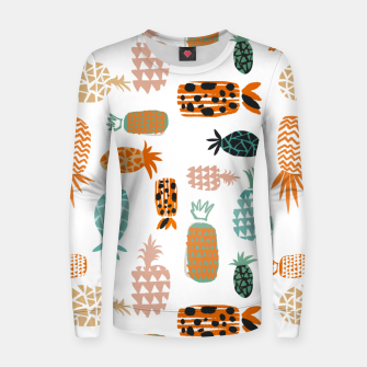Thumbnail image of Crazy Pineapples Women sweater, Live Heroes