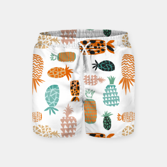 Thumbnail image of Crazy Pineapples Swim Shorts, Live Heroes