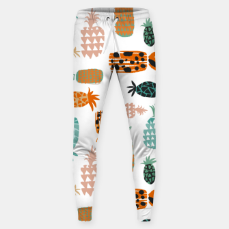 Thumbnail image of Crazy Pineapples Sweatpants, Live Heroes