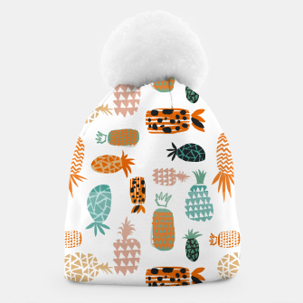 Thumbnail image of Crazy Pineapples Beanie, Live Heroes