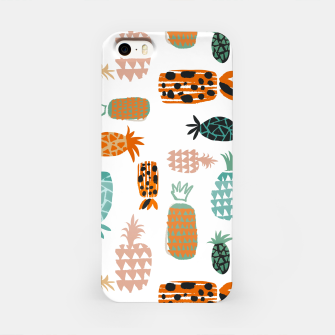 Thumbnail image of Crazy Pineapples iPhone Case, Live Heroes