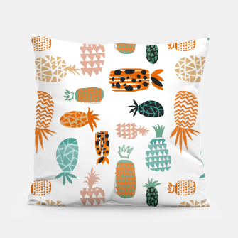 Thumbnail image of Crazy Pineapples Pillow, Live Heroes