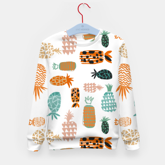 Thumbnail image of Crazy Pineapples Kid's sweater, Live Heroes