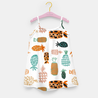 Thumbnail image of Crazy Pineapples Girl's dress, Live Heroes
