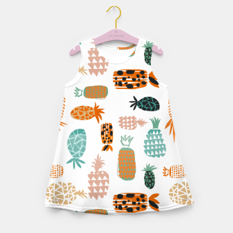 Thumbnail image of Crazy Pineapples Girl's summer dress, Live Heroes