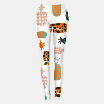 Thumbnail image of Crazy Pineapples Leggings, Live Heroes