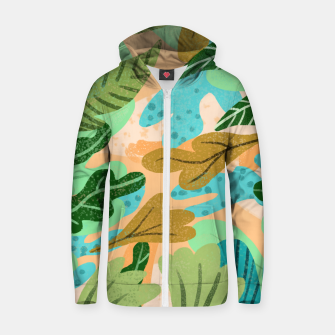 Thumbnail image of Rough Around The Edges Zip up hoodie, Live Heroes