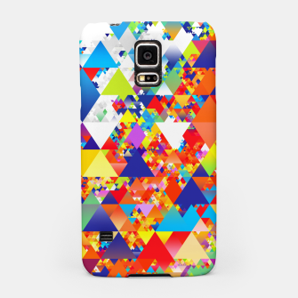 Miniaturka Colorful Triangles Pattern Samsung Case, Live Heroes