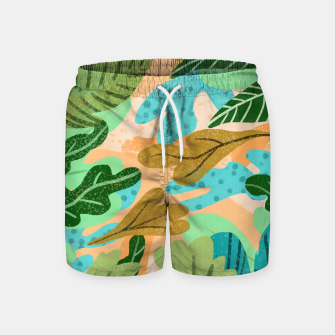 Thumbnail image of Rough Around The Edges Swim Shorts, Live Heroes