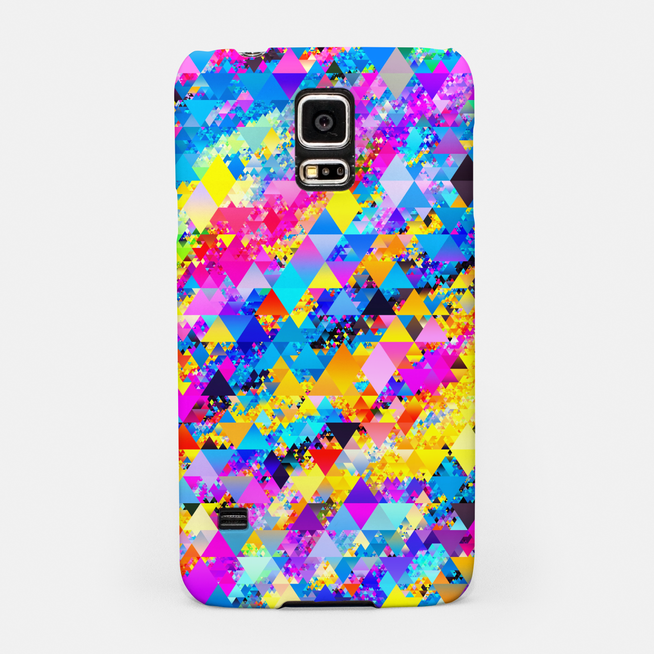 Zdjęcie Colorful Triangles Pattern Samsung Case - Live Heroes