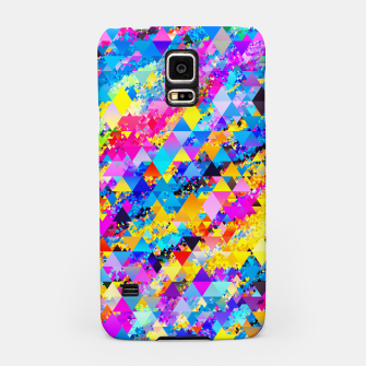 Colorful Triangles Pattern Samsung Case obraz miniatury