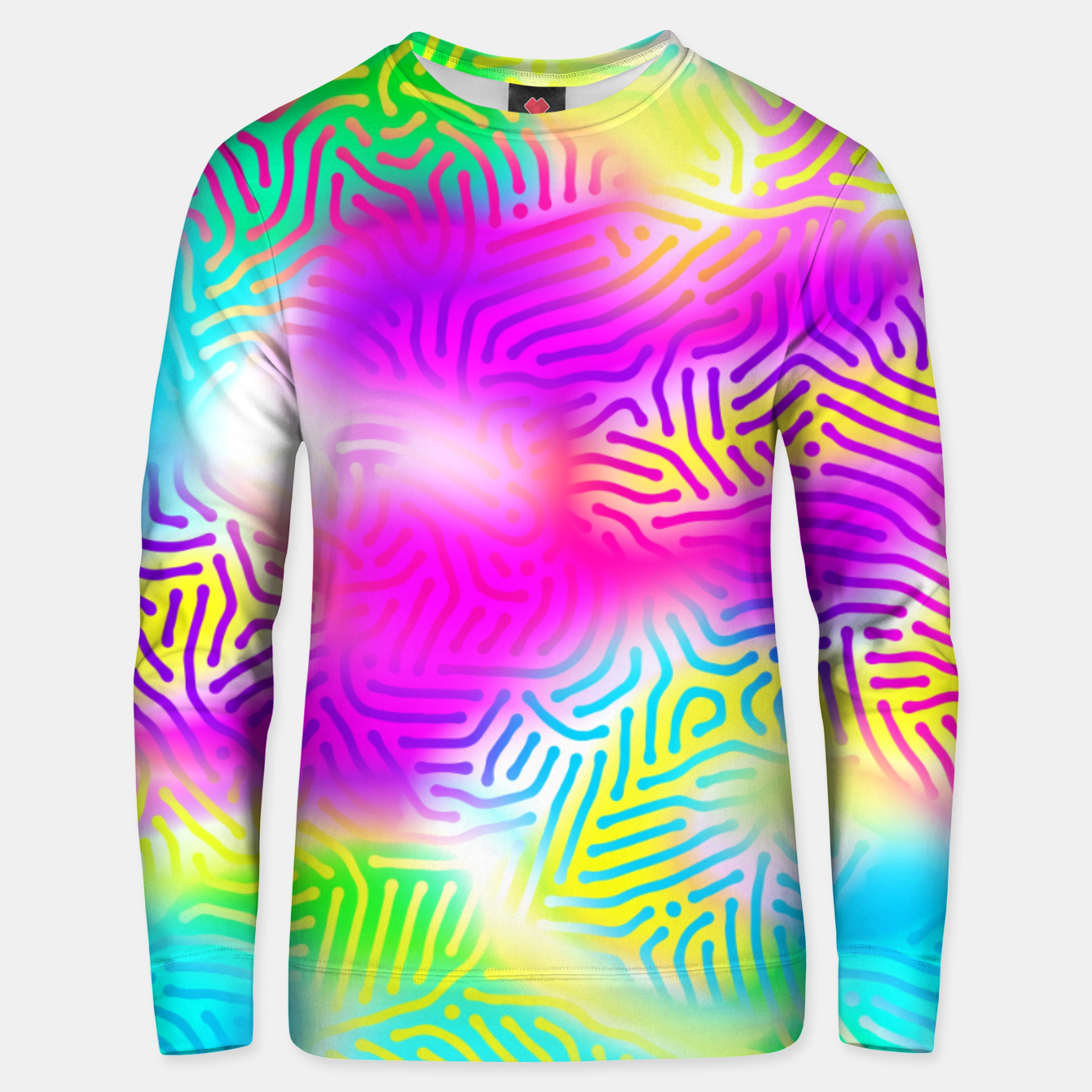 Zdjęcie Colorful Pattern  Unisex sweater - Live Heroes