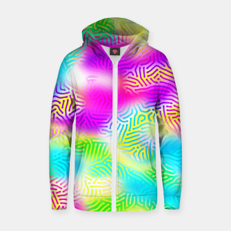Miniaturka Colorful Pattern  Zip up hoodie, Live Heroes