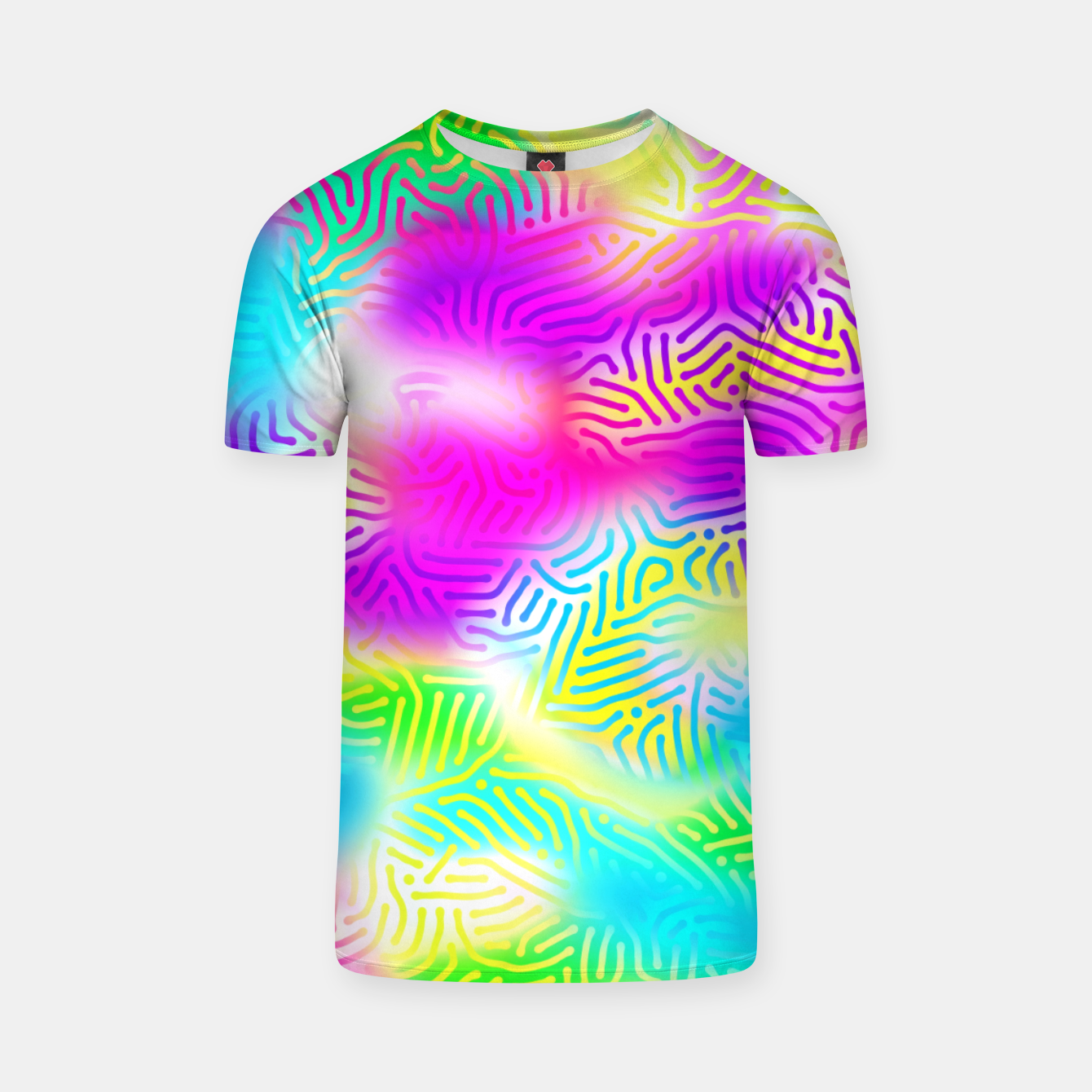 Zdjęcie Colorful Pattern  T-shirt - Live Heroes