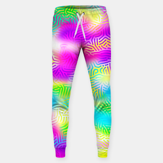 Colorful Pattern  Sweatpants obraz miniatury