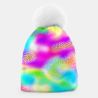 Miniaturka Colorful Pattern  Beanie, Live Heroes