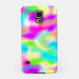 Miniaturka Colorful Pattern  Samsung Case, Live Heroes