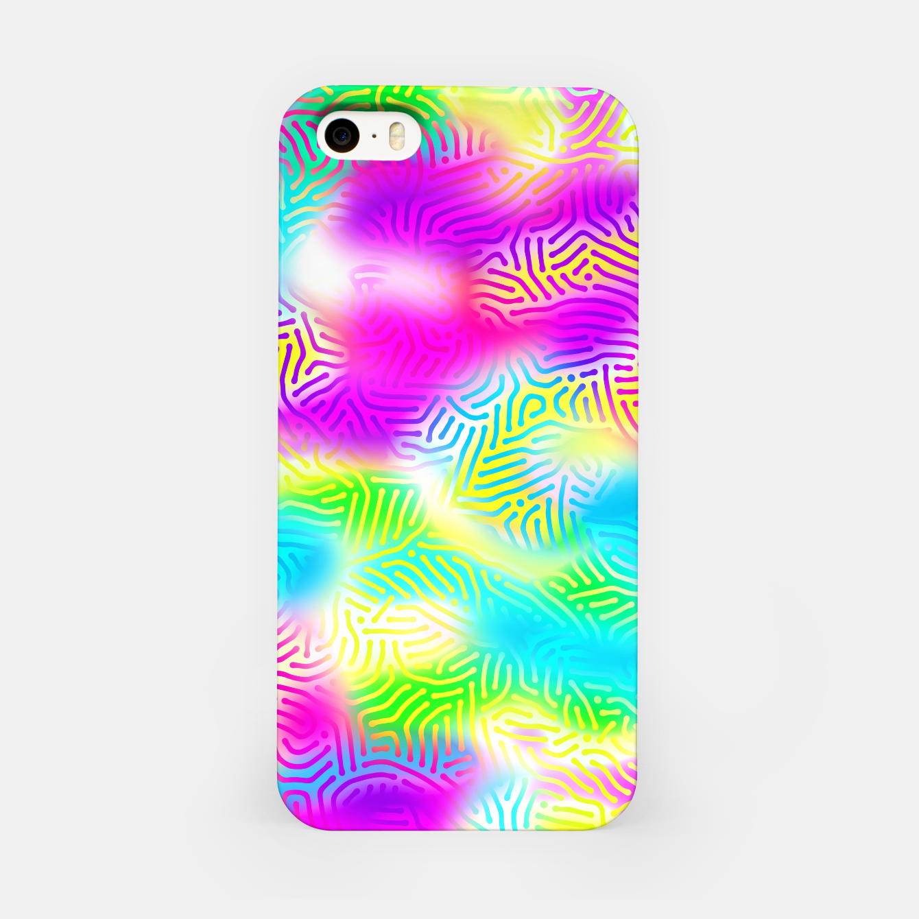 Zdjęcie Colorful Pattern  iPhone Case - Live Heroes
