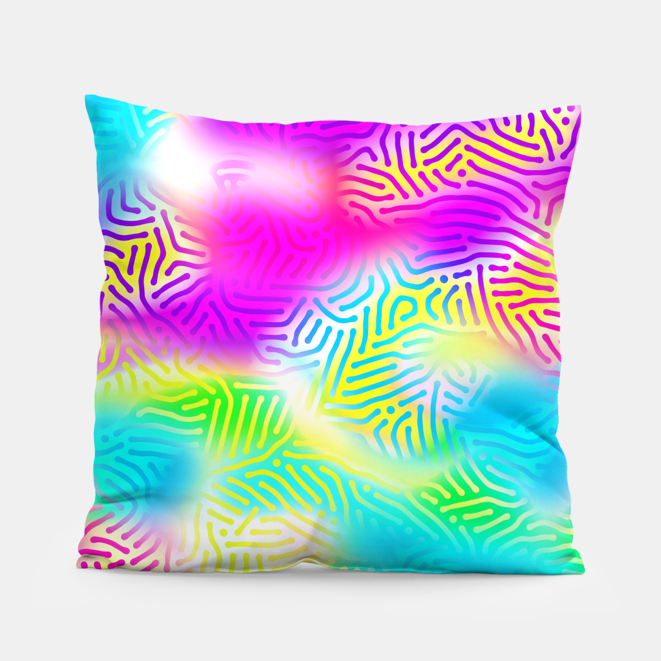 Zdjęcie Colorful Pattern  Pillow - Live Heroes