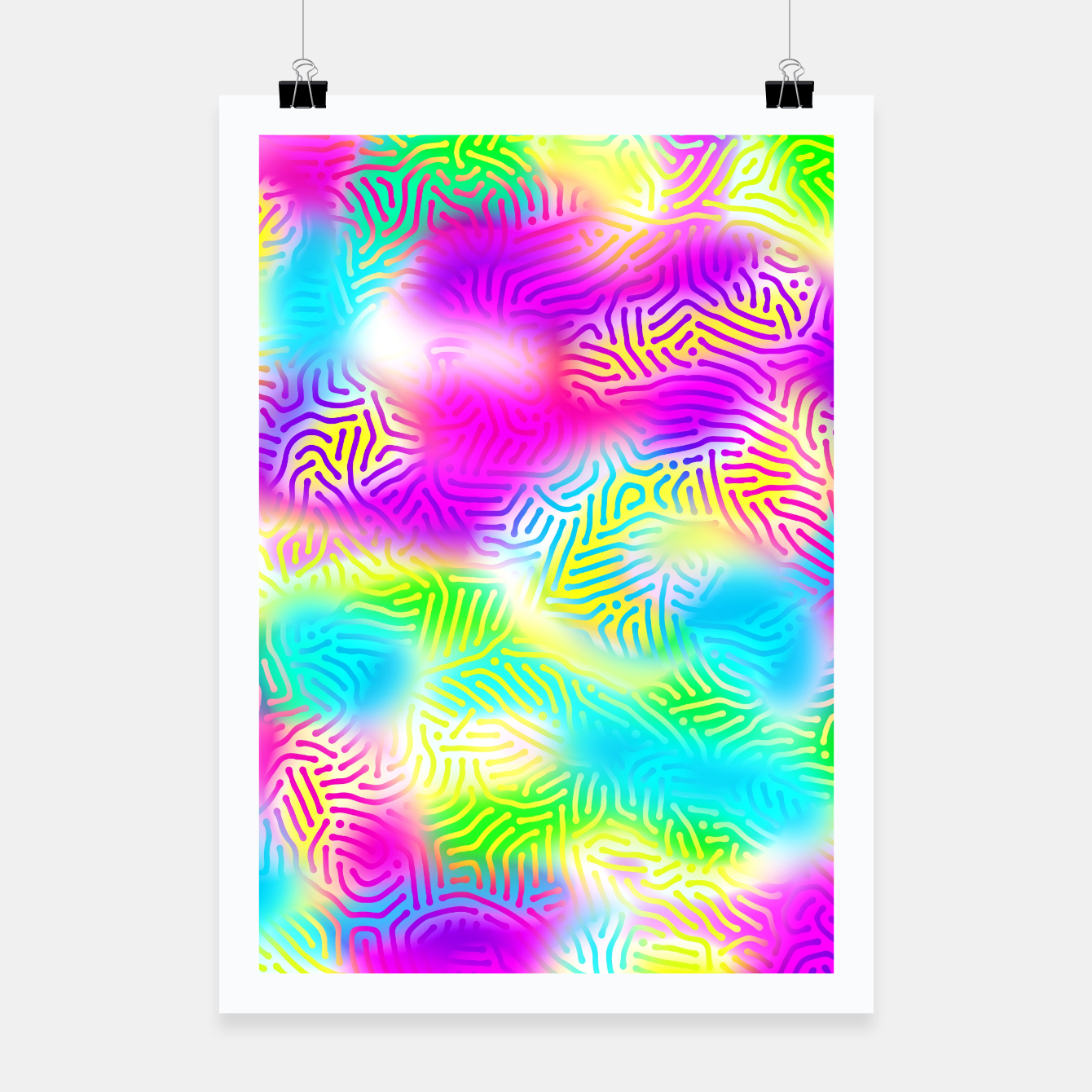 Zdjęcie Colorful Pattern  Poster - Live Heroes