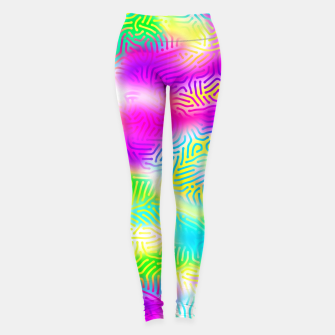 Colorful Pattern  Leggings obraz miniatury