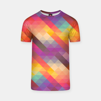 Thumbnail image of Geometric Triangles T-shirt, Live Heroes