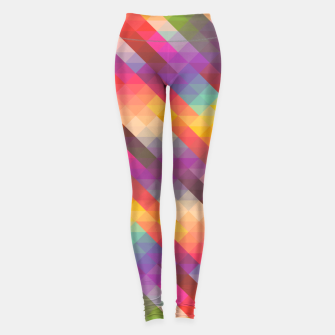 Thumbnail image of Geometric Triangles Leggings, Live Heroes