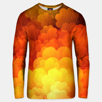 Thumbnail image of Abstract Clouds Unisex sweater, Live Heroes