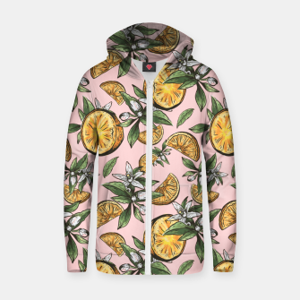 Thumbnail image of Lemon Crush Zip up hoodie, Live Heroes