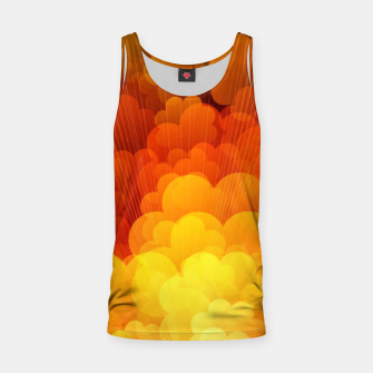 Thumbnail image of Abstract Clouds Tank Top, Live Heroes