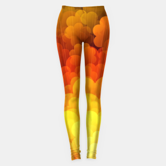 Thumbnail image of Abstract Clouds Leggings, Live Heroes