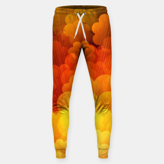 Thumbnail image of Abstract Clouds Sweatpants, Live Heroes