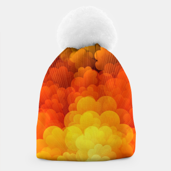Thumbnail image of Abstract Clouds Beanie, Live Heroes