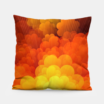 Thumbnail image of Abstract Clouds Pillow, Live Heroes