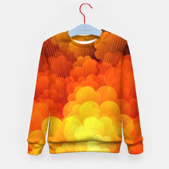 Thumbnail image of Abstract Clouds Kid's sweater, Live Heroes