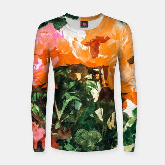 Thumbnail image of Blossoming Florals Women sweater, Live Heroes
