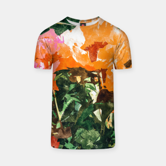 Thumbnail image of Blossoming Florals T-shirt, Live Heroes