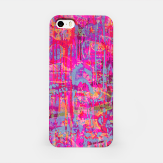 Miniatur Pink Graffiti iPhone Case, Live Heroes