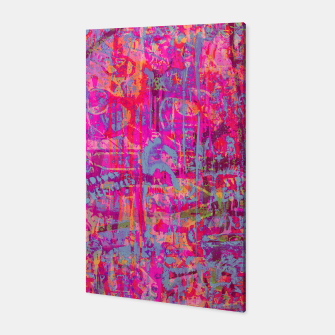 Pink Graffiti Canvas thumbnail image