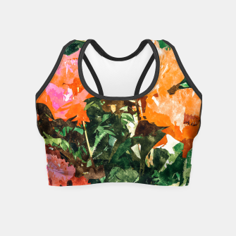 Thumbnail image of Blossoming Florals Crop Top, Live Heroes