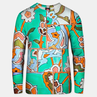 Thumbnail image of Floral Morocco Unisex sweater, Live Heroes