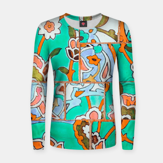 Thumbnail image of Floral Morocco Women sweater, Live Heroes