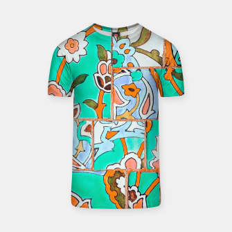 Thumbnail image of Floral Morocco T-shirt, Live Heroes